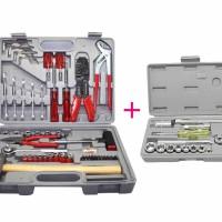 Kenmaster Tool kit 100pcs N2 (Grey) & Kenmaster Kunci Sok 21pcs
