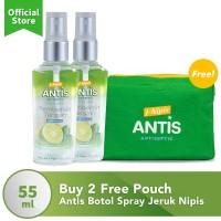 Antis Botol Spray Jeruk Nipis 55ml Buy 2 Free Pouch