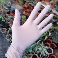 Sarung Tangan (Gloves) Karet Nitrile Eceran Tuk Berkebun_Ungu Muda_XS