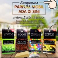parfum mobil ZOOM kopi , vanila , bubble , greentea