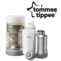 TOMMEE TIPPEE TT/01/124 CLOSER TO NATURE TRAVEL BOTTLE N FOOD WARMER S