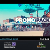 FAST INTRO PACK 5in1 | Videohive After Effect Template