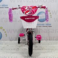 United Kokuri CTB Sepeda Anak Perempuan Usia 2 - 4 Tahun AEOA