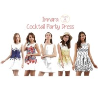 Innara Cocktail Party Dress / Mini Dress Pesta / Gaun Pesta