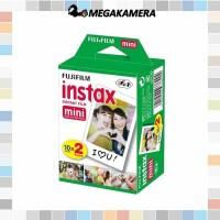 Instax Paper / refill Fujifilm Instax mini 10 lembar x 2 Pack , polos