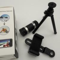 Lensa Telezoom/Telezoom 8X/Lensa kamera hp/Telezoom/Tripod hp