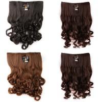 HairClip Wig Rambut Palsu Wanita Panjang Pendek Korea Murah Hair clip