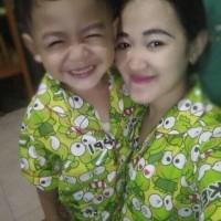 Piyama Ibu Dan Anak Baju Tidur Dewasa Couple Mom&kids Murah Celana