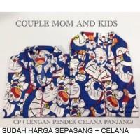 Piyama Celana Baju Tidur Dewasa Couple Mom&kids Murah Ibu Dan Anak
