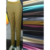 Celana Wanita Formal Kantor Kerja Bahan Kantoran Murah Panjang Premium