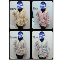 Cardigan Kimono Wanita Cardi Cewek Kardigan Murah Outer Lengan Panjang