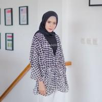 Kimono Cardigan Wanita Cardi Cewek Kardigan Murah Outer Lengan Panjang