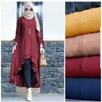 Baju Muslim Tunik Gamis Syari Murah Dress Muslimah Cewek Terbaru Keren