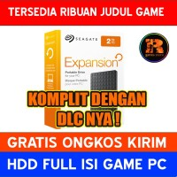 Hardisk Eksternal 2TB Full isi Game PC | HDD Seagate Expansion 3.0