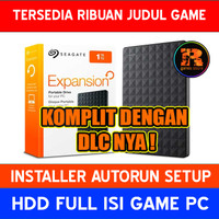 Hardisk Eksternal 1TB Full isi Game PC | HDD Seagate Expansion 3.0