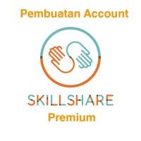 Pembuatan Account Akun skillshare Premium 2 bulan Legal