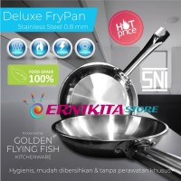 FRYPAN STAINLESS STFP0120 - DIA. 20 CM - FOOD GRADE MATERIAL
