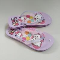 Sandal Karakter Wanita Motif Hello Kitty Pink Lucu Sendal Jepit Rumah