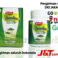 Obat Cepat Gemuk - Penambah Nafsu Makan Walatra Spirulina-G Plantesis