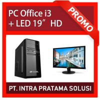 PC Rakitan Core i3 Lengkap (Siap Pakai, untuk Office / Admin)