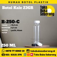 Botol Kale 250ml / botol plastik / botol pet/ botol murah/ botol air