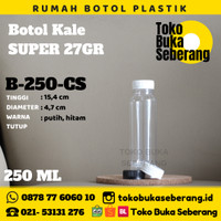 Botol Kale 250 ml (C2) / botol plastik / botol pet/ botol murah