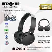 Sony Bluetooth Headphone Extra Bass MDR-XB650BT