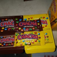 DELFI CHA CHA ADA BIRU 60GR / PERMEN CHOCOLATE DELFI CHACHA