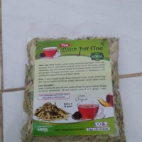 Teh Daun Jati Cina Original 100% Alami ( plastik bening )
