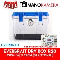 Everbrait Dry Box R20 Drybox ABS Free Silica Gel Elektrik Untuk Kamera