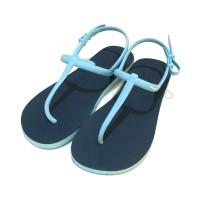 Sandal Fipper Strappy Navy Blue Sky
