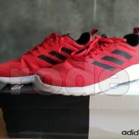 Sepatu Adidas Running Mens Lite Racer CLN Red