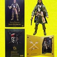 Figure Dx Neca Jack Sparrow Pirates of the Caribbean