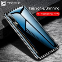 CASING CAFELE Huawei P30 P30 PRO New Plating 2019 Transparent Softcase