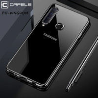 CAFELE Samsung A9 2018 A9S New Plating 2019 Series Transparan Softcase
