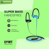 Hippo Sport Handsfree Headset Earphone