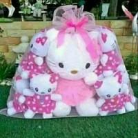 Boneka Hello Kitty Beranak Boneka keluarga
