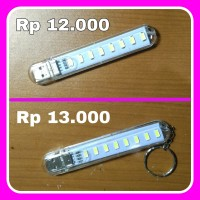 USB LED Lamp lampu emergency light darurat 8 mata