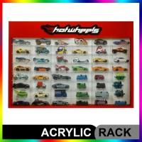 Rak Rack Hotwheels 1:64 Isi 48 Header Slim Fit Edition
