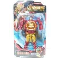 Jam Tangan Anak Digital Hero Watch Robot Avengers Ironman