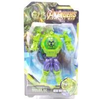 Jam Tangan Anak Digital Hero Watch Robot Avengers Hulk