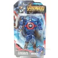 Jam Tangan Anak Digital Hero Watch Robot Avengers Captain America