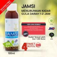 PROMO - PAKET JAMSI 100ml BELI 3 GRATIS 1 - Herbal Diabetes - Diabet