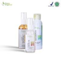 Green Angelica paket penghilang uban penghitam uban ampuh alami BPOM