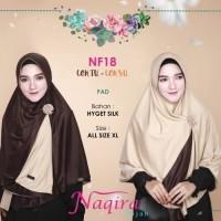 beli 2 gratis 1 Naqira Hijab NF18 Pad bolak balik