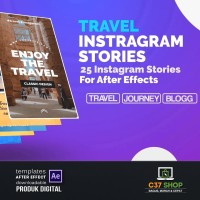 TRAVEL Instagram Stories | Videohive After Effect Template