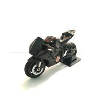 Diecast Motor Takara Tomy No 36 Honda CBR 1000RR Hitam Sakala 1:32