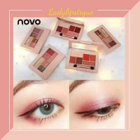 Novo Elegant Make Up Eyeshadow 6 Color