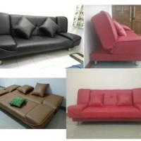 Sofa Bed Vendita Sofabed Minimalis Super Eco Oscar Kulit Lea B12in170