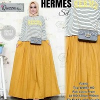 60fbb81de66 HOT SALE Hermes Set Baju Atasan Wanita Setelan Kulot Setelan Baju Dan